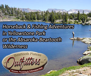 Beartooth Plateau Outfitters - Yellowstone - Full-service, multi-day horseback pack trips & day rides into the Absaroka-Beartooth Wilderness or Yellowstone backcountry - Slough Cr./Pebble Cr./Lamar - fishing & photos. Our camps are clean, inviting and cater to your needs. Folks of all ages love our backcountry experiences.