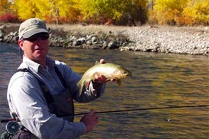 Rocky Fork Outfitters Flyfishing Guides :: Owner operated since the early 80's. Experience, knowledgeable. Come catch some big fish with the best guides in the area!