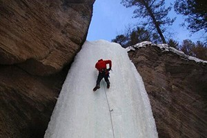 Beartooth Mountain Guides - ice climbing trips :: The only locally owned-operated guiding and mountaineering instruction service offering year-round climbs in the Beartooth Mountains outside Red Lodge. Great ice terrain.