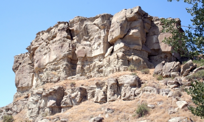 Pompeys Pillar Billings Montana Lewis And Clark