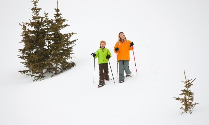 Kids Winter Snowshoeing