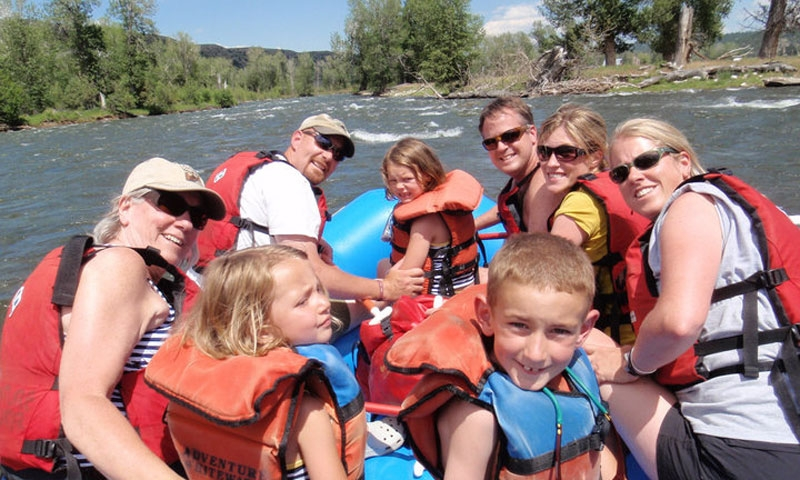 Family Whitewater Rafting near Red Lodge Montana
