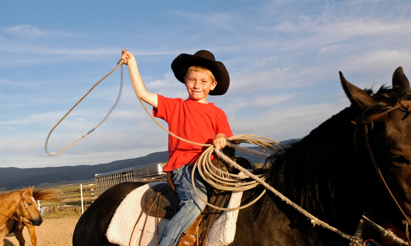 Kids Horseback Riding Montana