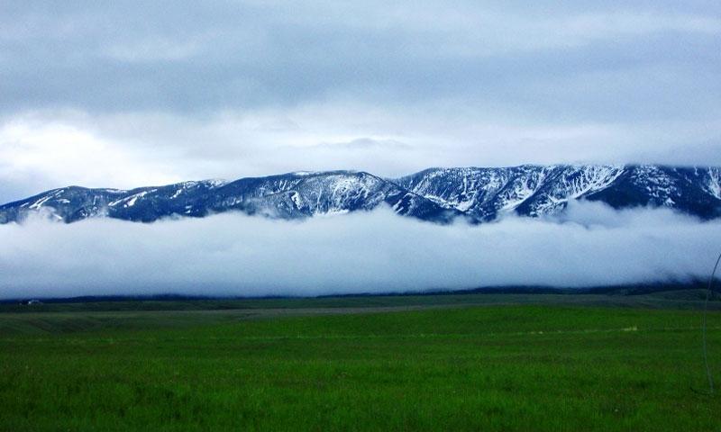 Scenic Drive through Stillwater Valley in Montana