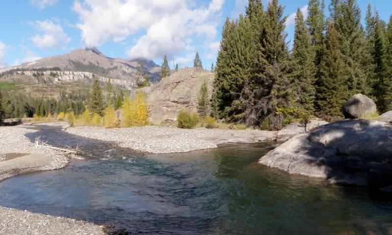 Clarks Fork Yellowstone River Montana