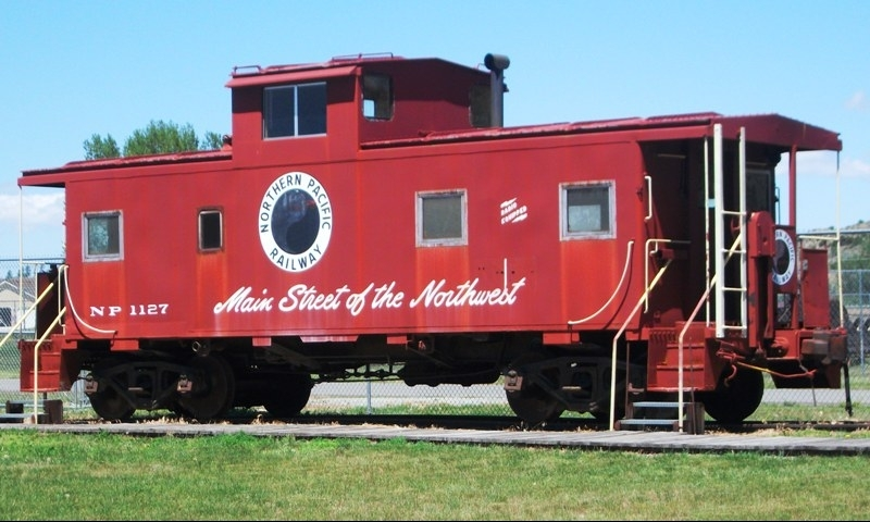 Museum of the Beartooths' Northern Pacific Railway Car