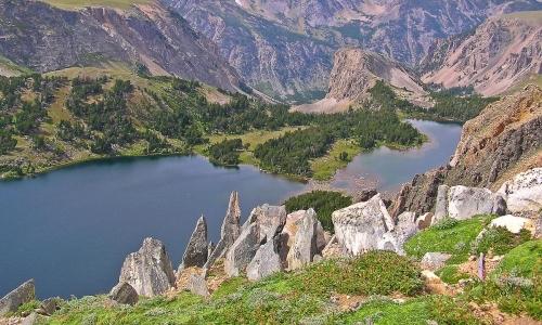 Beartooth Mountain Lakes