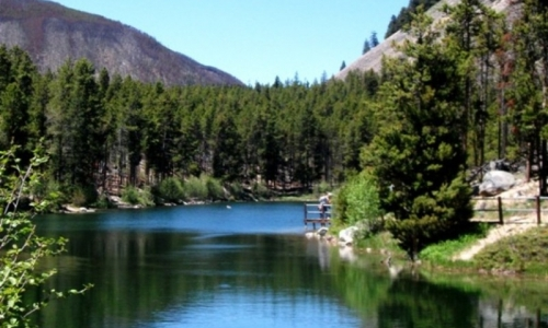 Fishing Wild Bill Lake Montana
