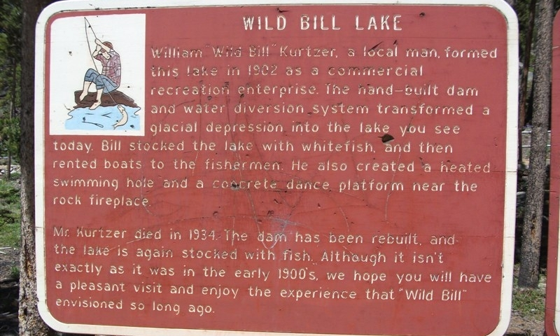 Story of Wild Bill Lake