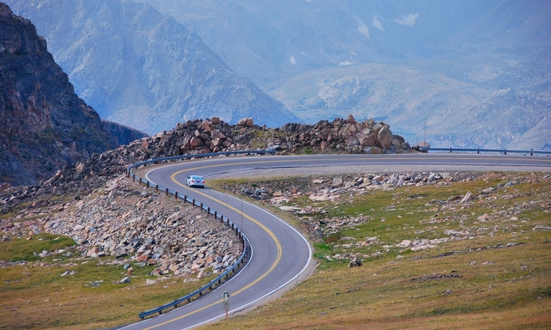 Driving Beartooth Pass