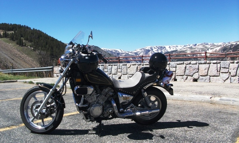 Riding Beartooth Pass