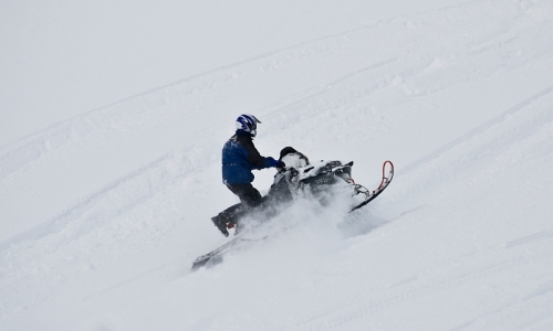 Red Lodge Montana Snowmobile