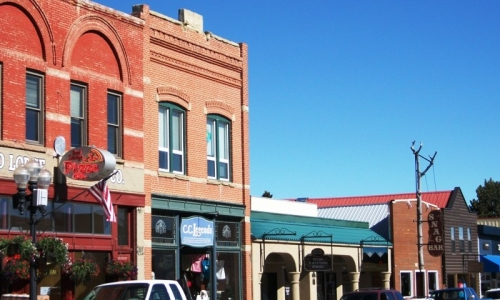 Downtown Red Lodge Montana